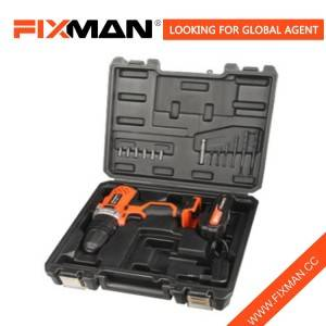 Fixman 14 Pcs Home Use Household 18V Electrical Drill Set with Lithium Battery