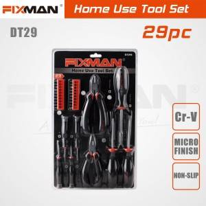 FIXMAN 29-PCS Household Complete Toolbox DT29