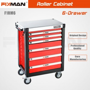 FIXMAN F1RM6 6-Drawer Roller Cabinet