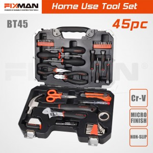 FIXMAN 45PCS Home Basic Repair Tool Box Kit