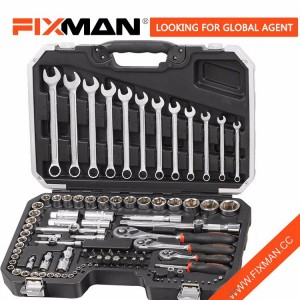 "Tools FIXMAN Professional Hand Behantsha 111PCS 1/2 ""& 1/4"" & 3/8 ""DR. Soketeng wrench Tool Set"