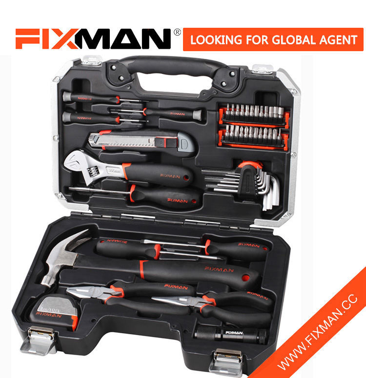 FIXMAN 46-PC Home Lo Complete ọpa Box ṣeto