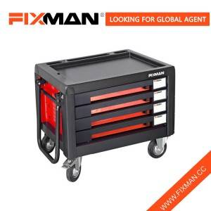 FIXMAN 4-Drawer Roll Cabinet Tool Chest Mobile Tool Chest