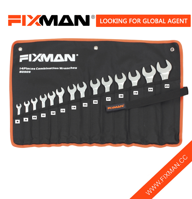 FIXMAN wrench set 14pcs combination wrench