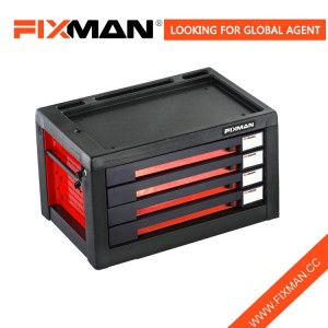 FIXMAN Professional Truck 4 Drawer Storage Workbench Tool Chest Box