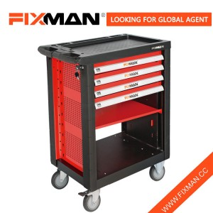 FIXMAN Professional 4 Drawers Rolling Tool Chest Wholesale