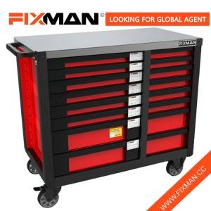Fixman Professional Roll Around Tool Box Chest On Wheels