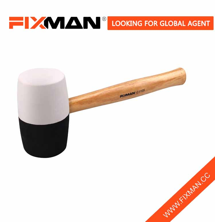 FIXMAN zhejiang white rubber hammer with competitve price