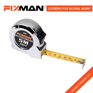 High quality tape measure 7.5m 5m 3m Measuring Tape 5m tape measure