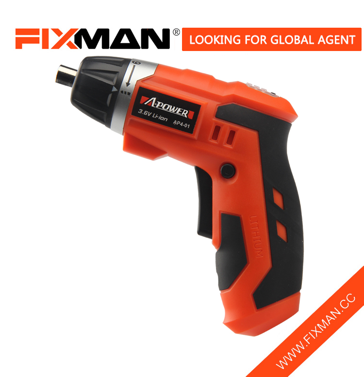 FIXMAN Performance Power Tools 3.6V Cordless Power Screwdriver