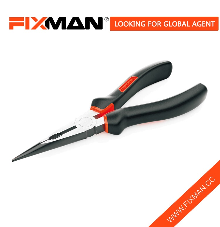 Professional High Carbon Steel long pointed nose pliers