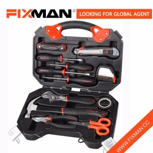 Fixman Complete High Quality 12 Pcs Household Hand Tool Kit