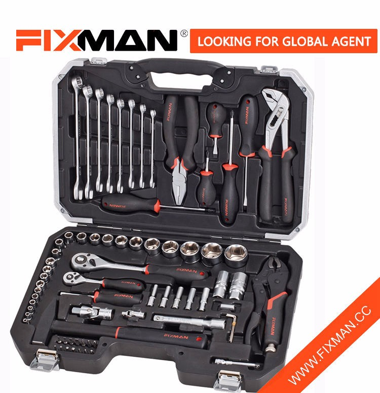 Professional 72Pcs Mechanical Workshop Tools , Household Automotive Hardware Tool Set