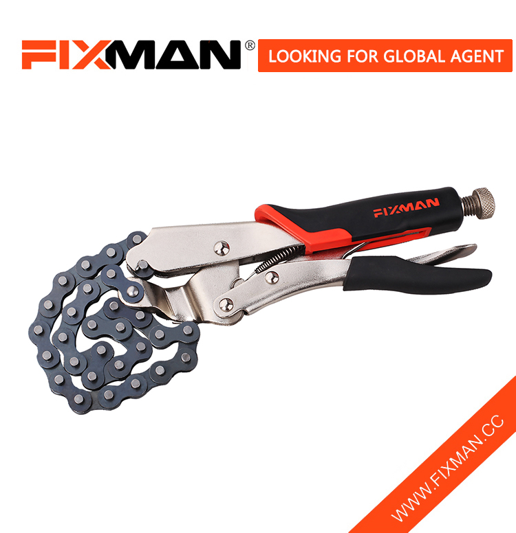 Heavy-Duty Locking Clamp Chain Wrench Partihandel