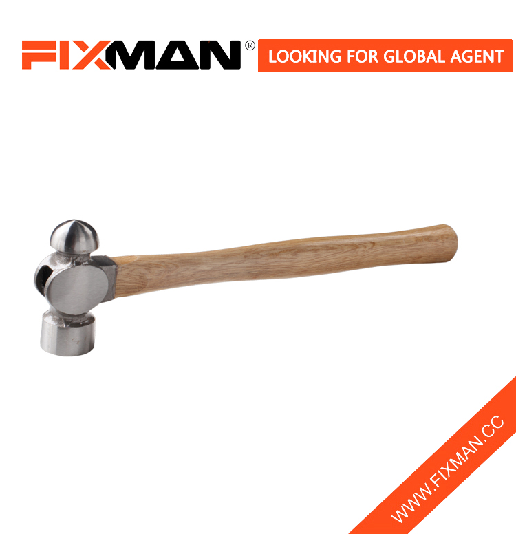 hotsale ball pein hammer with wooden handle