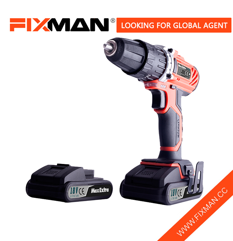 Professional 18V Electric Drill And Compact Cordless Screwdriver