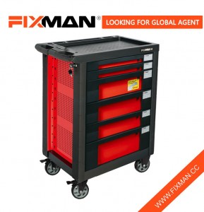 FIXMAN 6-Drawer Mobile Бокс Roller Тумба On Wheels