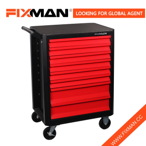 FIXMAN 8-Drawer Mobile Roller Toolbox Cart On Wheels
