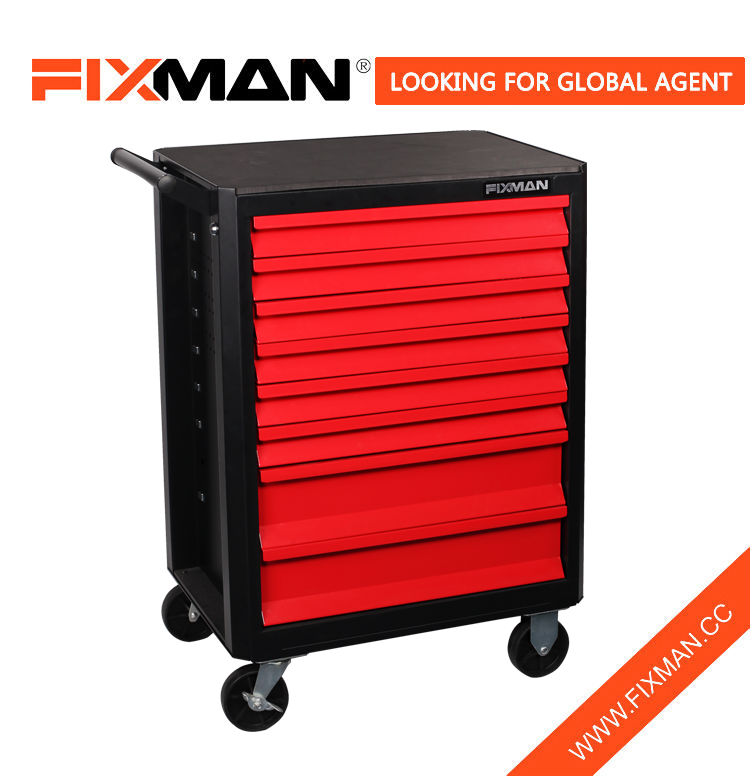 FIXMAN Best Portable Tool Storage Professional 8-Drawer Tool Roller Cabinet
