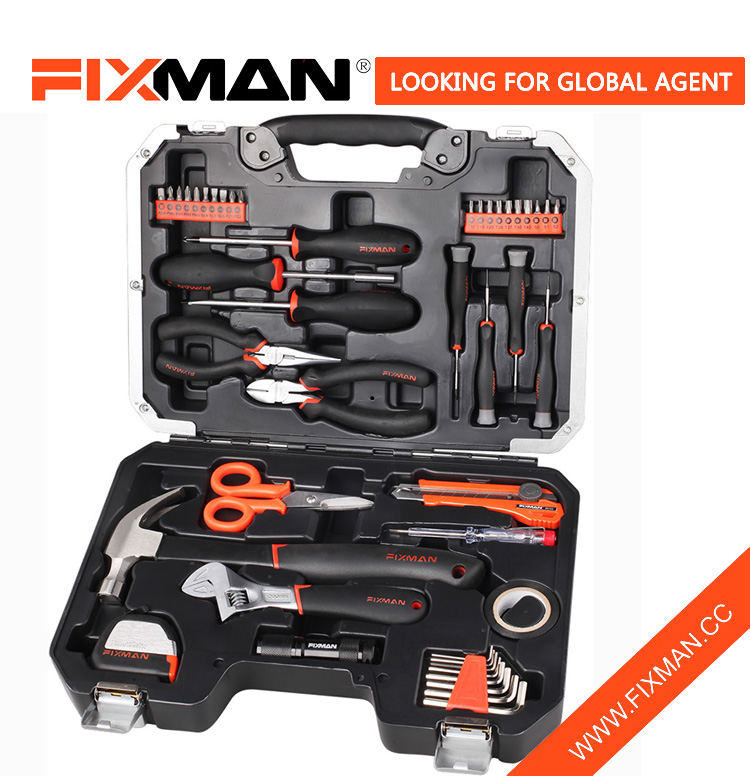 Waxing FIXMAN 45-pc Home bikaranînê tool set Amûrên destê