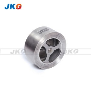 Vertical Polishing Type Wafer Lift Check Valve High Temperature DIN Standard