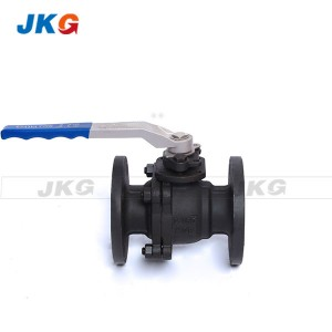 DN150 WCB Stainless Steel Flanged  Ball Valve DIN RF Floating type PN16 PN40