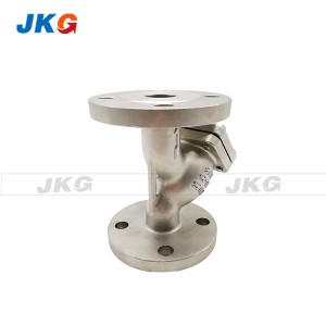 Water Pump Y Type Strainer Stainless Steel Material Double Flange Ends