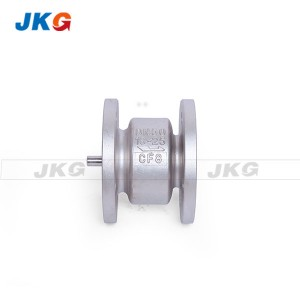 Vertical Silence Type Check Valve Spring Loaded Flange End CF8 ANSI GB