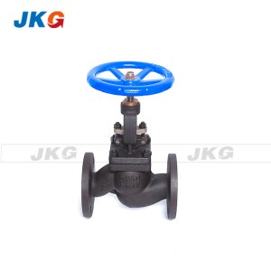 Manual Carbon Steel Globe Valve Flanged Type Steam WCB For Gas , Oil
