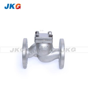 Durable Globe Stop Lifting Check Valve Flange Connection Style