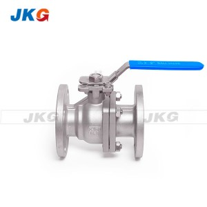 Class 150LB CF8 Stainless Steel Flanged Ball Valve 2 Inch Operating By Handle