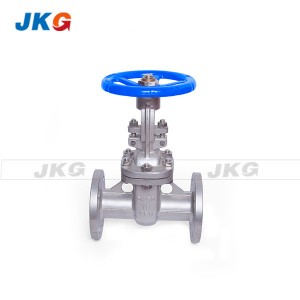 Temp High Industrial Grade 4 Inch Flanged Gate Valve Gear Operator Water Meter