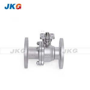 Electric Actuator Direct Mounting SS Ball Valve Flange Type Nominal Size DN50 ~ DN200