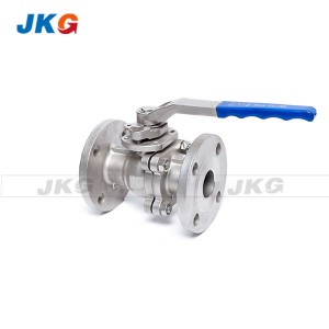 High Pressure 2 Piece Ball Valve Manual JIS 20K CF8 Stainless Steel Gas