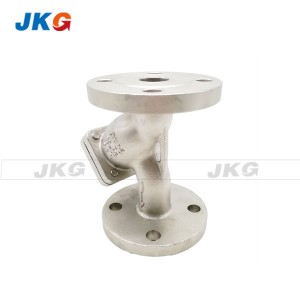 Filter Impurities Flanged Y Strainer Valve For Oil Water Gas Energy Saving