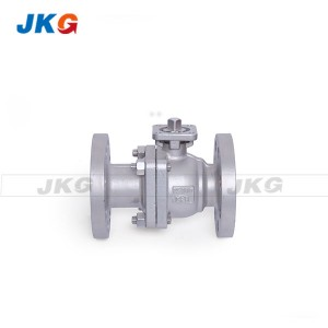 JIS 10K SCS14 Full Port Stainless Steel Ball Valve DN50 Control Valve