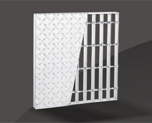Konposatu Steel Grating
