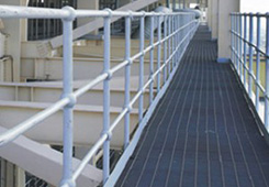 OEM/ODM China Galvanized Welded Parking Lot Steel Grating - Railing & Stanchion – JIULONG