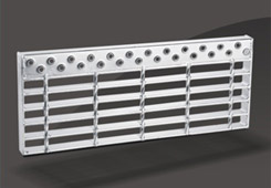 Galvanized Steel grating Stair Tread-JT7