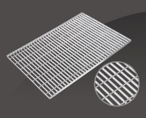 Super Lowest Price Galvanized 25×5 Steel Grating - ROUND BAR LOCK TYPE STEEL GRATING – JIULONG