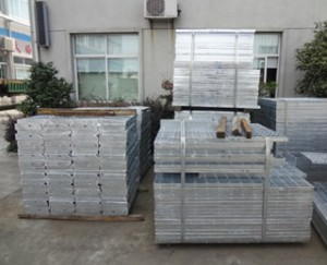 Hot Dip Galvanized Serrated Bar Grating JG255/30/100SG