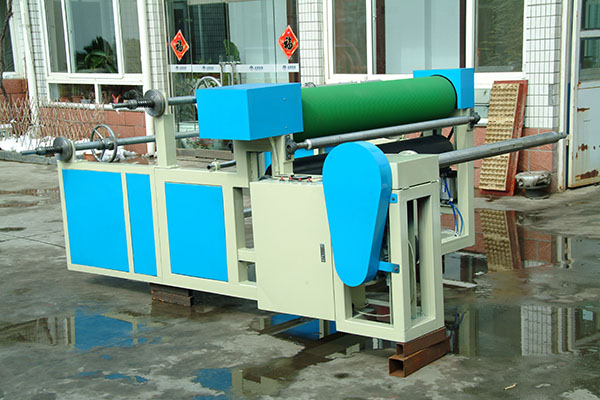 Manufactur standard Plastic Packing Net Making Machine - Laminating machine – JINMENG