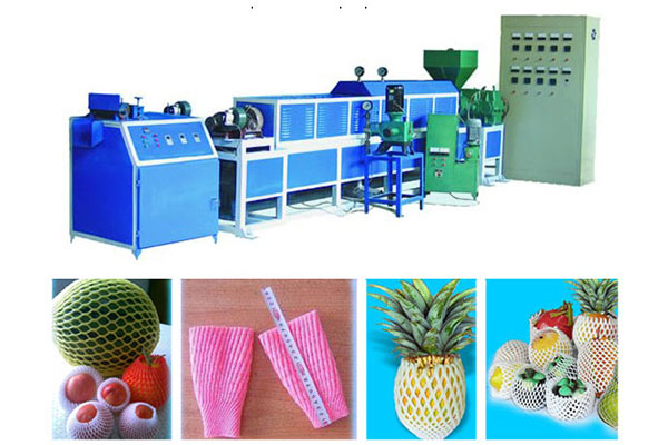 Discount wholesale Garlic Knotless Net Bag Making Machine - Epe foam net machine – JINMENG
