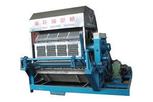 Good quality Pe Fruit Knotless Net Bag Making Machine - Rotary egg tray machine – JINMENG