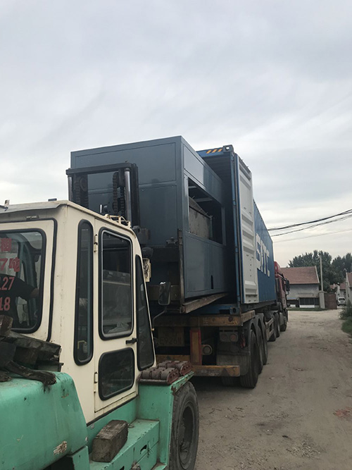 We Sent ZMZ20/20 Equipment to South Korea on August 22