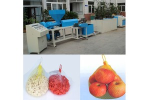 factory customized Three Color Bath Boll Making Machine - knotless net extruder – JINMENG