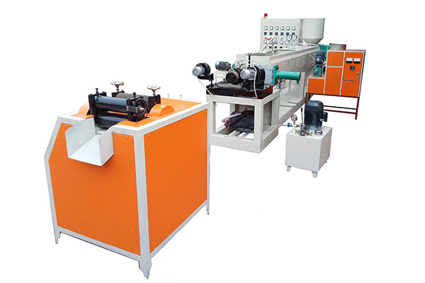 Manufactur standard Plastic Packing Net Making Machine - Epe foam net machine – JINMENG
