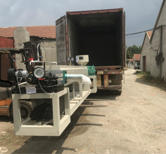 We sent EPE FOAM SHEET MACHINE to Vietnam on July 2019.
