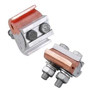 Copper-Aluminium parallel-groove clamp