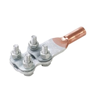 Copper clamp for transformer